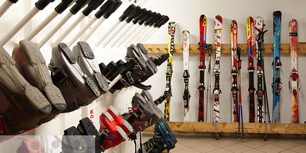 Rental and Ski Storage